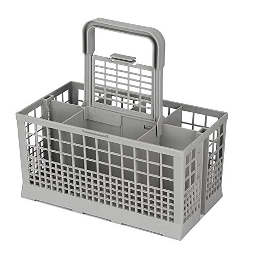 Volwco - Portaposate Universale per lavastoviglie Kenmore, Whirlpool, Bosch, Maytag, KitchenAid