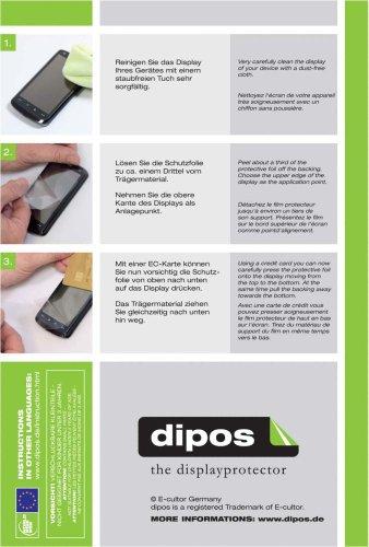 dipos I 2X Pellicola Protettiva antiriflesso Compatibile con Huawei MediaPad T1 10 Pulgada Pellicola di Protezione