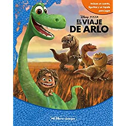 El viaje de Arlo. Mi libro-juego: Incluye un cuento, figuritas y un tapetre para jugar (Libroaventuras)