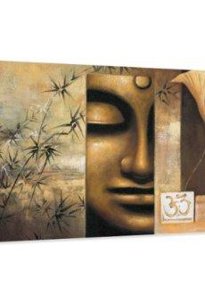 120 x 80 cm Cuadro en Lienzo Buda 5157-SCT – Imagen/Impresion/Pintura Listo para Colgar