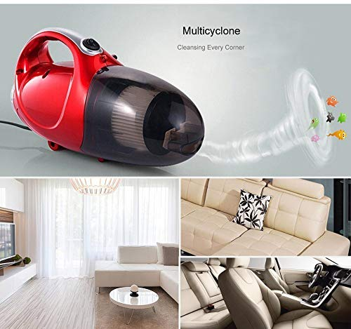 MW Mall India New Vacuum Cleaner Blowing and Sucking Dual Purpose (Jk-8), 220-240 V, 50 Hz, 1000 WATTS, Red 2