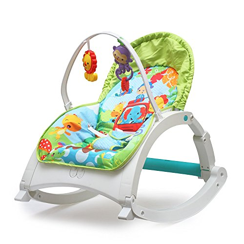 The Flyers Bay Fiddle Diddle Baby Bouncer Cum Rocker(955)
