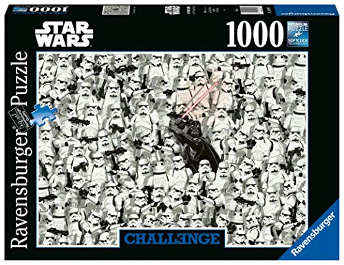 Ravensburger Italy- Puzzle 1000 Pezzi Star Wars, Multicolore, 14989 6