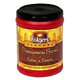 Folgers Flavors Cinnamon Swirl Ground Coffee 326gram