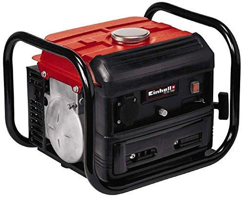 Einhell 4152530 Generador Electrico TC-PG 1000 con Sistema AVR (Regulacion Automatica Voltage) Potencia 800 w Rojo