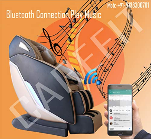 Carefit India's Latest Zero Gravity 4D Massage Chair with Real Super Long SL Track
