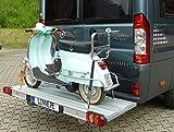 Linnepe Lastenträger SlidePort Fiat Ducato ab Bj 07/2006 Überhang 1000 mm