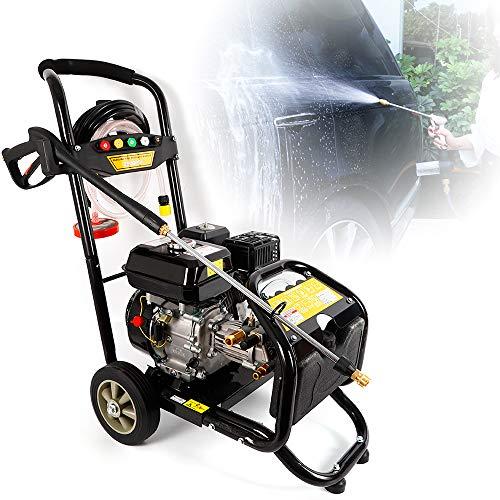 Idropulitrice a benzina da 7,5 cv Benzina a benzina Ugelli ad alta pressione con getto a vapore 5,...