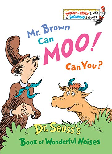 Mr. Brown Can Moo! Can You? (Bright & Early Books(R))