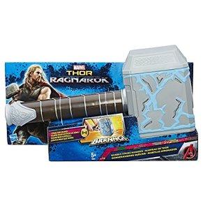 Marvel Avengers Martillo atronador de Thor, Multicolor, 34 x 18 cm (Hasbro B9975EU4)