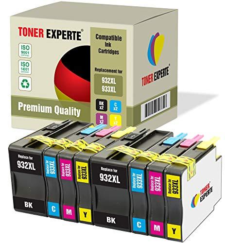 8 XL TONER EXPERTE Sostituzione per HP 932 XL 933 XL 932XL 933XL Cartucce d'inchiostro compatibili...