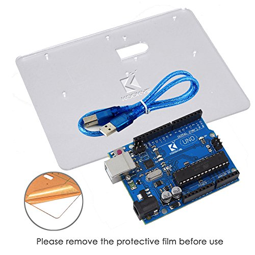 511v%2BwDswWL - Kit de aprendizaje para programar KOOKYE para Arduino, Raspberry Pi none UNO R3 Starter kit for Arduino