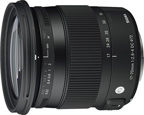 Sigma 884306 Obiettivo 17-70 mm-F/2.8-4 (C) DC MACRO OS HSM -AF, Attacco NIKON