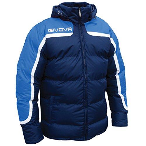 Givova Antartide, Giubbotto Calcio Uomo, Multicolore (Azzurro/Blu), M