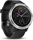 Garmin Vivoactive 3 Smartwatch GPS con Profili Sport, Sensore Cardio e Pagamento Contactless, Nero/Argento