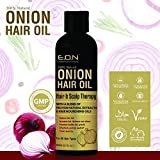 ESSENTIALS OF NATURE Onion Hair Oil with Blend of 21 Proven Natural Extracts (200 Ml)