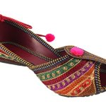 Shree Women's PVC Rajasthani Jaipuri Ethnic Belly Shoes