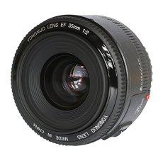 Yongnuo YN35 35mm F2 longitud focal fija lente gran angular con EF bayoneta para Canon EOS 500D / 600D / 650D / 700D / 5D / 5D Mark II / 5D Mark III / 5DS / 5DS R / 6D / 7D / 7D Mark II, etc. con TARION bolsa de protección