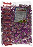 British Swizzels Love Hearts Mini Roll Candy: 3kg Bag, (Approx 300 Rolls) by Love Hearts