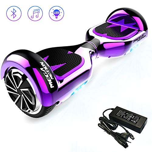 Mega Motion Hoverboard Self Balance Scooter Elettrico E1-6.5' Elettrico Segway - Bluetooth -...
