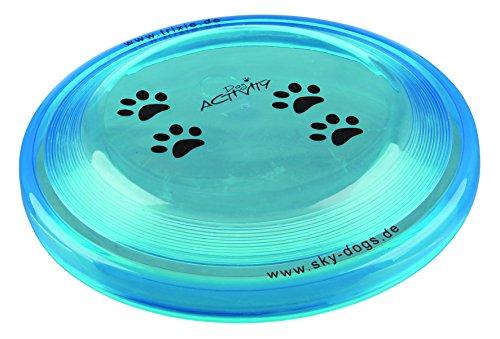 Perro actividad Disco Bite prueba Frisbee perrito Formación recuperar juguete dos tamaños, Colores Surtidos