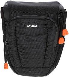 Rollei Fotoliner Funda Camera M - De alta calidad y acolchada para llevar su cámara DSLR