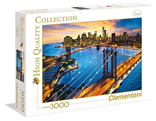 Clementoni - 33546 - High Quality Collection Puzzle - New York - 3000 Pezzi
