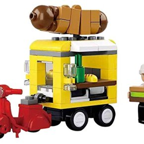 Sluban Bloques de Construccion Town Dining Car