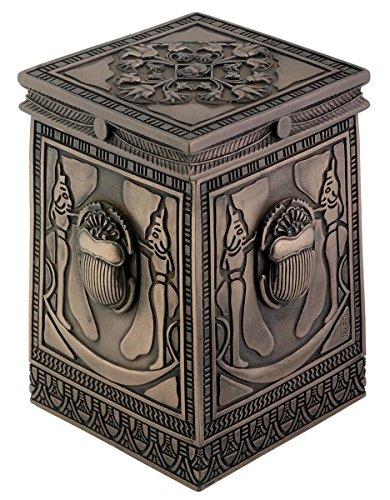 Summit Bronce Egipcio Escarabajo Caja Figura Coleccionable contenedor