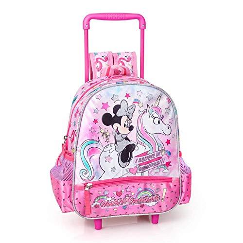 zaino Trolley Minnie Mouse Disney Borsa Scuola Asilo Bambina CM. 30 - 36216C