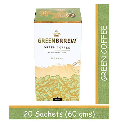 Greenbrrew Instant Green Coffee for Weight Management - 20 Sachets, Each 3g (Easy to use) 4