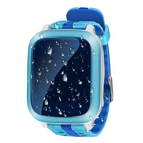 Smart Watch Gps Tracker Bambini Impermeabile 1.44 inch Localizzatore Gps Tracking in Tempo Reale...