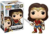 Funko- Figurine Pop Vinyl DC Justice League Wonder Woman, 13708