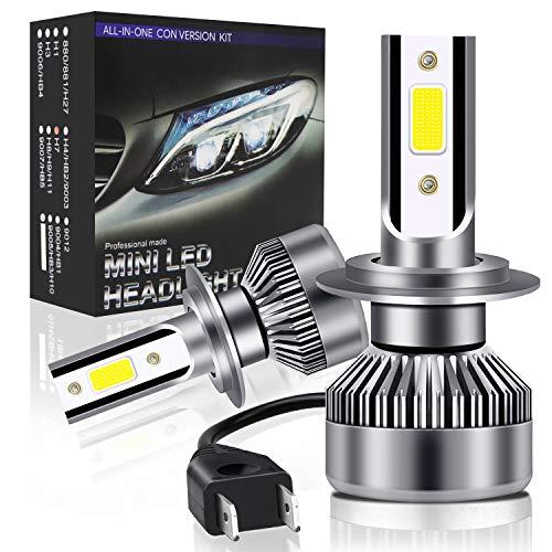 Lampadine H7 LED 6000LM 36W,Oladwolf Lampade per Auto Luci,Kit Lampadina Sostituzione per Alogena...