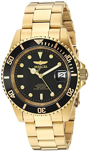 Invicta 8929OB Pro Diver Unisex Uhr Edelstahl Automatik schwarzen Zifferblat