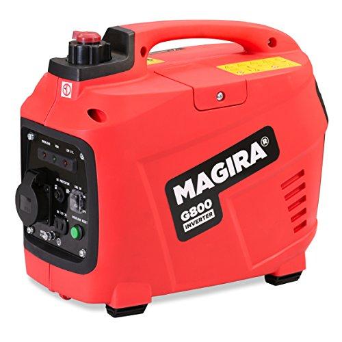 MAGIRA Inverter Stromerzeuger 0,8 kW Leiser Benzin Strom Generator in 5 Varianten: 0,8kW - 3,3kW