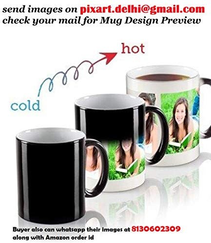 PIXART Ceramic Customized Magic Photo Mug