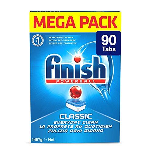 Finish Pastiglie Lavastoviglie Classic, Regular, 90 Tabs