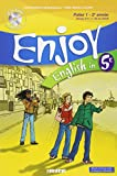 Enjoy English in 5e : Palier 1 - 2e année (1CD audio)