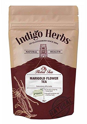 Indigo Herbs Infuso di Fiori di Calendula - 50g