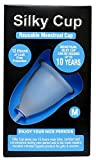 Silky Cup Reusable Menstrual Cup for Women - Medium (Upto 30 Years)