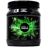 Super Greens Powder by Lean Greens - 500g - Tastes Insanely Good - a Superfood Detox Blend of Wheatgrass, Spirulina and Vegetables