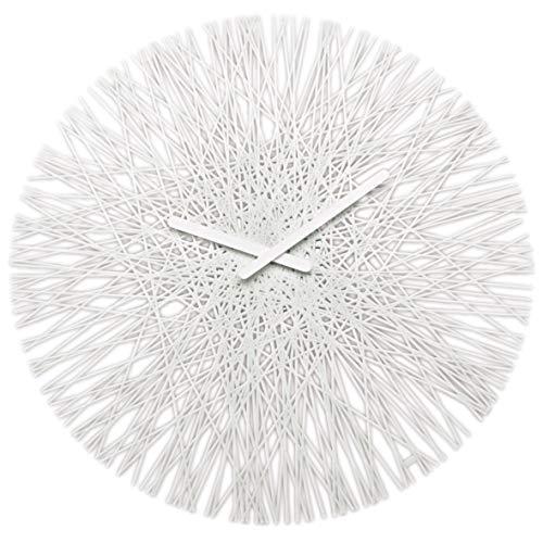 koziol Orologio Design Vari Colori, Colore Bianco, plastica;vetro, tondo