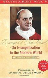 Evangelii Nuntiandi: On Evangelization in the Modern World: Amazon ...
