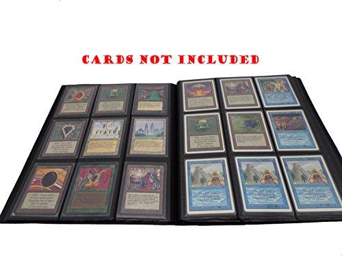 docsmagic.de PRO-Player Album Black - 360 Card Binder - Magic: The Gathering - Pokemon - Yu-Gi-Oh!