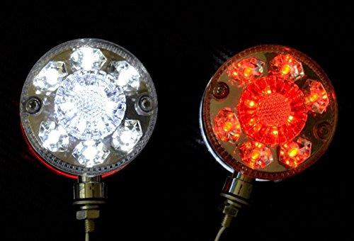 2X Lato Luci Di Ingombro Unico LED 24V Camion Rimorchio Telaio Caravan