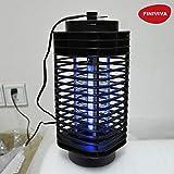 FINIVIVA Black Electronic Mosquito Killer Machine For Home   Electric Mosquito killer repellent Lamp   Mosquito killer Machine Trap Lamp Fly Killer current Lamp (Works In Dark Room)