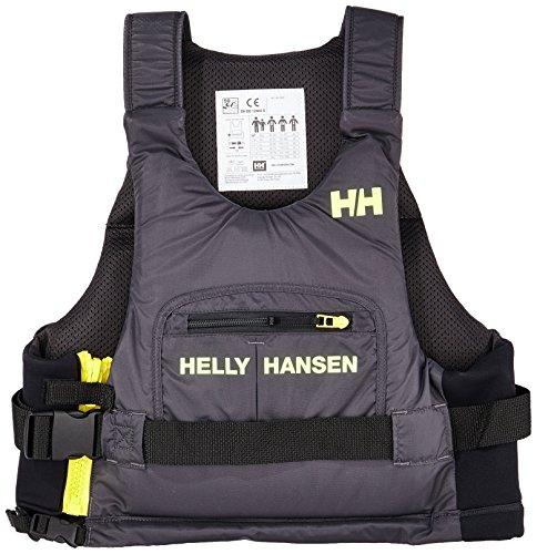 Helly Hansen - Giubbotto di Salvataggio Rider+, da Uomo, Uomo, Rider +, Ebano, 50/60