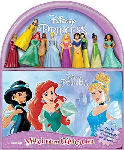 Disney princess. Maxi libro gioca kit. Con 10 gadget