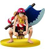 Banpresto- One Piece Luffy Scultures Colosseum Gold Movie Figurine, 4983164366907, 13cm
